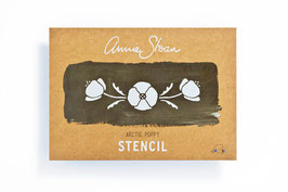 Annie Sloan Stencil Arctic Poppy