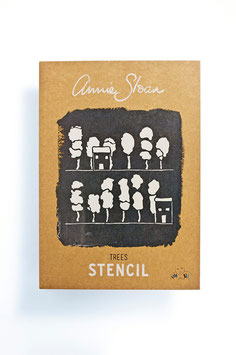 Annie Sloan Stencil Trees