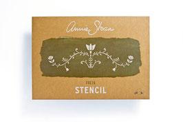 Annie Sloan Stencil Freya