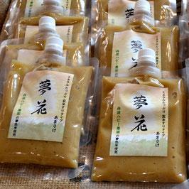 自然栽培玄米甘酒「夢花」 250g