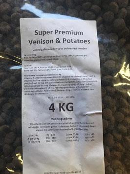 Super Premium Venison & Potatoes