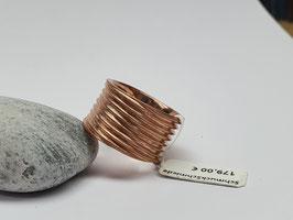 Ring Throm rosé aus 925/- Silber rosé goldplattiert