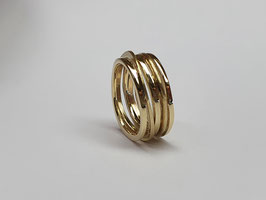 Wickelring aus 585/- Gelbgold