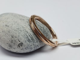 Stapelring in Gold 585/- Rotgold