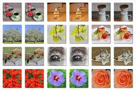 Senioren-MEMORY Bohnerwachs und Kaffeeduft ©