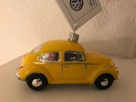 VW-Käfer gelb