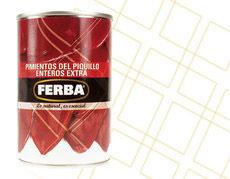 Pimiento del Piquillo, lata pequeno. 390 gram.