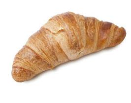 Croissant recto mantequilla, 90 gram p/stuk. 76 stuks per doos.