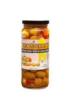 Aceitunas receta abuela formato pequeñito. 335 gram.