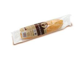 Baguette sin gluten, 25 stuks per doos. 105 gram p/stuk.