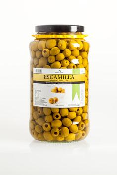 Aceitunas verdes Deshuesada. 3,14 kg.