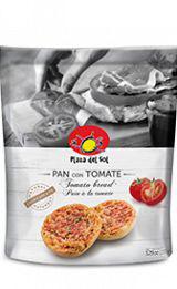 Pan tostada con Tomate. PDS, 150 gram.