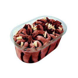 Cremoso Vasito Tres Chocolates. 135 gram.