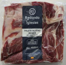 Bloque Paleta Ibérica Cebo, Pata Negra. 20+ maanden gerijpt. Ca. 3 kilo.