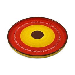 Handgemaakt Spaans Tapas bord van Bowls and Dishes. Doorsnede 28 cm.
