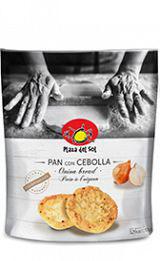 Pan Tostada con Cebolla. PDS, 150 gram.