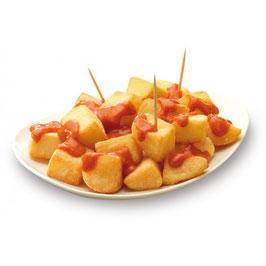 Patatas Bravas, 1 kg.