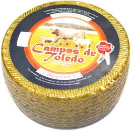 Queso Ibérico Curado - Tres Leches. 6 maanden gerijpt. Ca. 3,3 kg.