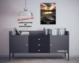 Wandkalender 2021 - Landschaften im Hochformat