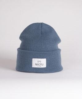 NIIOTU Mütze - Blaugrau