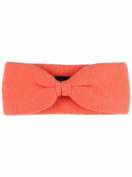 100% Cashmere Stirnband orange