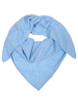 100% Dreieckstuch - hellblau