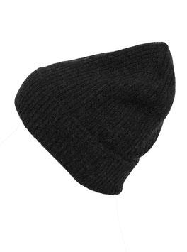 Mütze 100 % Kaschmir - Anthrazit