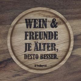 """Untersetzer """"Wein & Freunde.."""""""