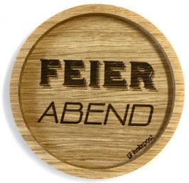 """Untersetzer """"Feierabend"""""""