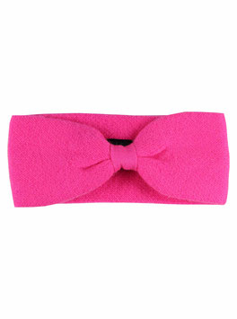 100% Cashmere Stirnband pink