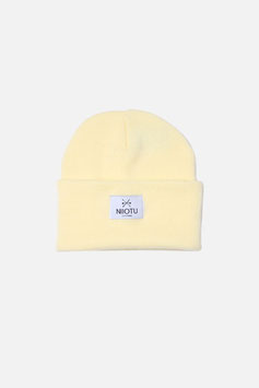 NIIOTU Mütze - Pastel-Gelb