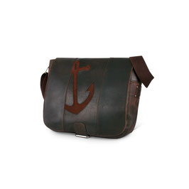 Ankertasche - groß - space-anchor brown