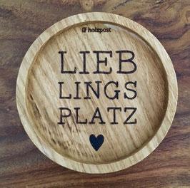 """Untersetzer """"Lieblingsplatz"""""""