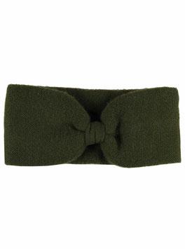 100% Cashmere Stirnband grün