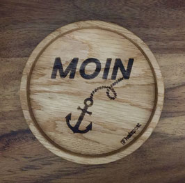 """Untersetzer """"Moin"""""""