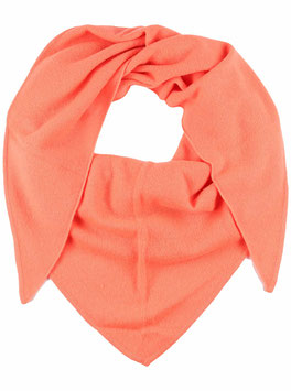 Dreieckstuch 100 % Kaschmir - orange