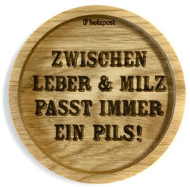 """Untersetzer """"Leber + Milz"""""""