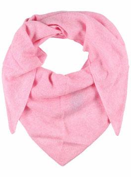 Dreieckstuch 100 % Kaschmir - rosa