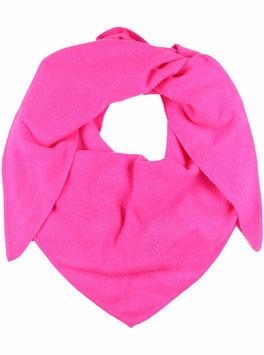 Dreieckstuch 100 % Kaschmir - pink