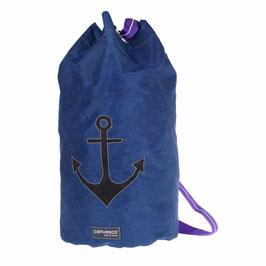 Seesack /  Reisetasche/Strandtasche blau / schwarz