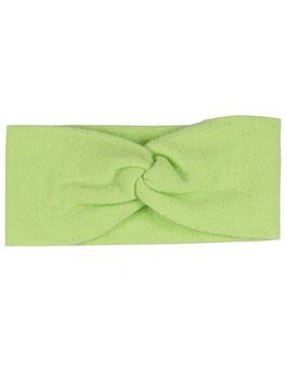 """100% Cashmere Stirnband """"hellgrün"""