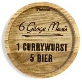 """Untersetzer """"Currywurst"""""""