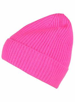 Mütze 100 % Kaschmir - pink