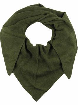 Dreieckstuch 100 % Kaschmir  - grün