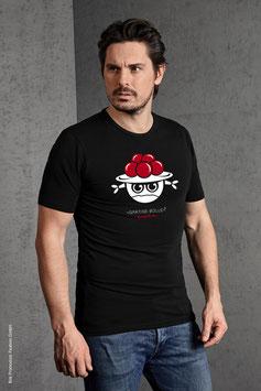 »Grätige Bolle« Slim fit Shirt für's Male
