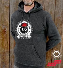Original Bolle-Bio-Hoodie  »Karle rund« unisex* - Bio-Fair-Vegan