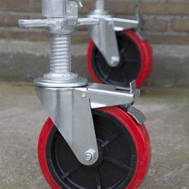 Räder 200ter mit Stahlspindel - Set
