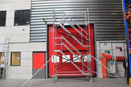 Treppengerüst 14,30 m Arbeitshöhe