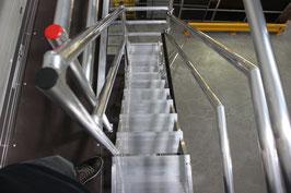 Treppengerüst 12,30 m Arbeitshöhe