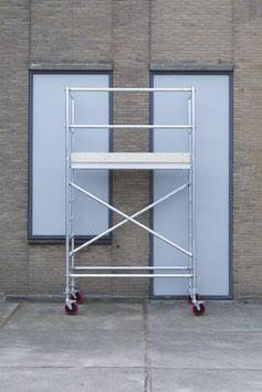 KiezGerüst KG 430- AS 075 schmal - Arbeitshöhe: 4,30 m - erweiterbar - Professional